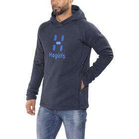 Haglöfs Swook Logo Capuche Homme, deep blue